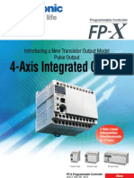 Panasonic PLC FP X