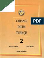 Yabanci Dilim Turkce 2