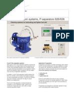 Flex Separation Systems, P-separators 626636 - EMD00232EN
