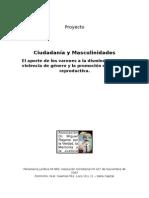 2013-11-28 Ciudadania y Masculinidades DDHH 2014