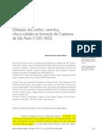 BUENO, Beatriz Picolloto Siqueira. Dilatação Dos Confins Caminhos, Vilas e Cidades Na Formação Da Capitania de São Paulo - Comentado