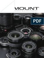 Fujifilm X Mount Lenses Accessories Catalogue