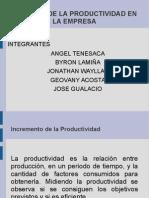 Grupo 3 -Aumento de La Productividad - Control de La Produccion
