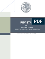 Revista TFJFA Junio 2015