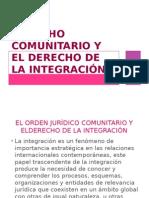 Derecho Comunitario y El Derecho de La Integración