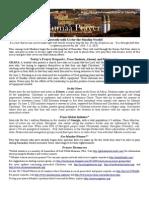 Jumaa Prayer Bulletin June 12, 2015