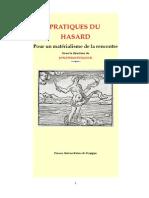 Pratiques Du Hasard