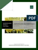 GUÍA de ESTUDIO de Antropología Del Parentesco I-1