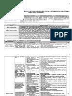 Cartel de Capacidades, Conocimientos y Actitudes Diversificadas Almonte Ok.