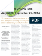 Español Discusion ISOS 2014