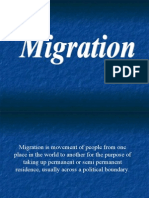 Migration is Movement of People From One