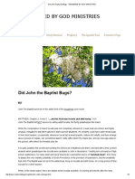 Did John Really Eat Bugs - REDEEMED BY GOD MINISTRIES.pdf