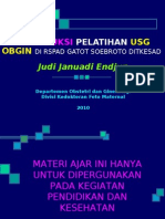 WSUSG 10 1. Introduksi Pelatihan USG OBGIN RSPAD (Versi Internet) 20100222