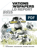 Innovation in Newspaper WAN IFRA 2015