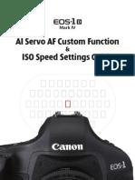 AI Servo AF Custom Function ISO Speed