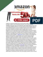 Amazon Ropa