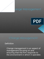 PPT Change Management