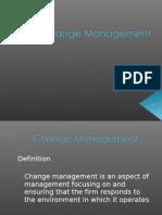 PPT Change Management