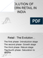 Evolution of Modern Retail in India