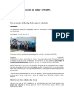 Relación de Notas 14-10-2014