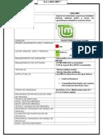 Tabla Comparativa Linux Mint.