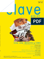 Clave # 4 // Cine, arte, derechos y video