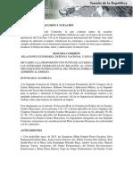 11-06-15 Dictamen a discusión - Edad Mínima de Empleo