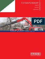 Catálogo Fassi F 210A.25