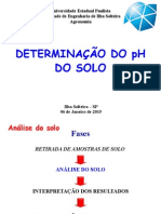 Determinação Do PH Do Solo