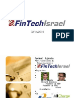 FinTechIsrael February Event Presentation