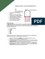 Soil Classification and Description