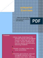 Perinatal Exercises