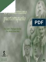 El Modernismo Puertorriqueno