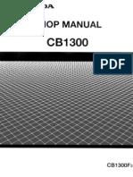 Shop Manual CB1300