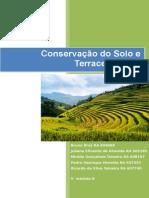 Conservação Dos Solos e Dimensionamento de Terraços