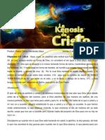 La Kenosis de Cristo