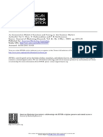 Econometric Model of Location and Pricing in the Gasoline Market