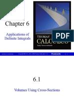 6 - Aplicaciones de Las Integrales Definidas