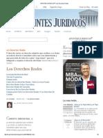 APUNTES JURIDICOS™_ Los Derechos Reales
