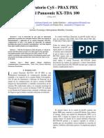 LAB-KX-TDA 100 Central Panasonic