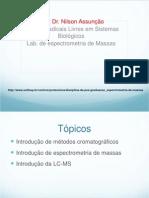 Aula de Cromatografia Gasosa e GC/MS