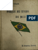 Affonso Celso - Porque Me Ufano de Meu País