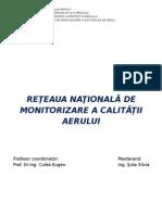 Reţeaua Naţională de Monitorizare a Calităţii Aeruluiproiect Smmfm