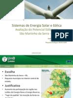 Apresentação Eólica Martinho da Serra