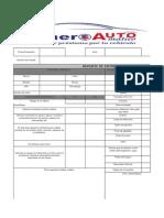 Check List para automovil