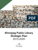 Winnipeg Public Library - Strategic Plan