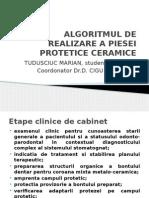 algoritmul pieselor ceramice