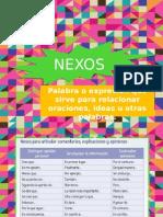 Nexos y El modo Subjuntivo