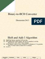 D4.5 Binary2BCD