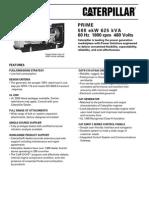 Grupos Electronicos Diesel Cat c18 500ekw Prime Lowbsfc
